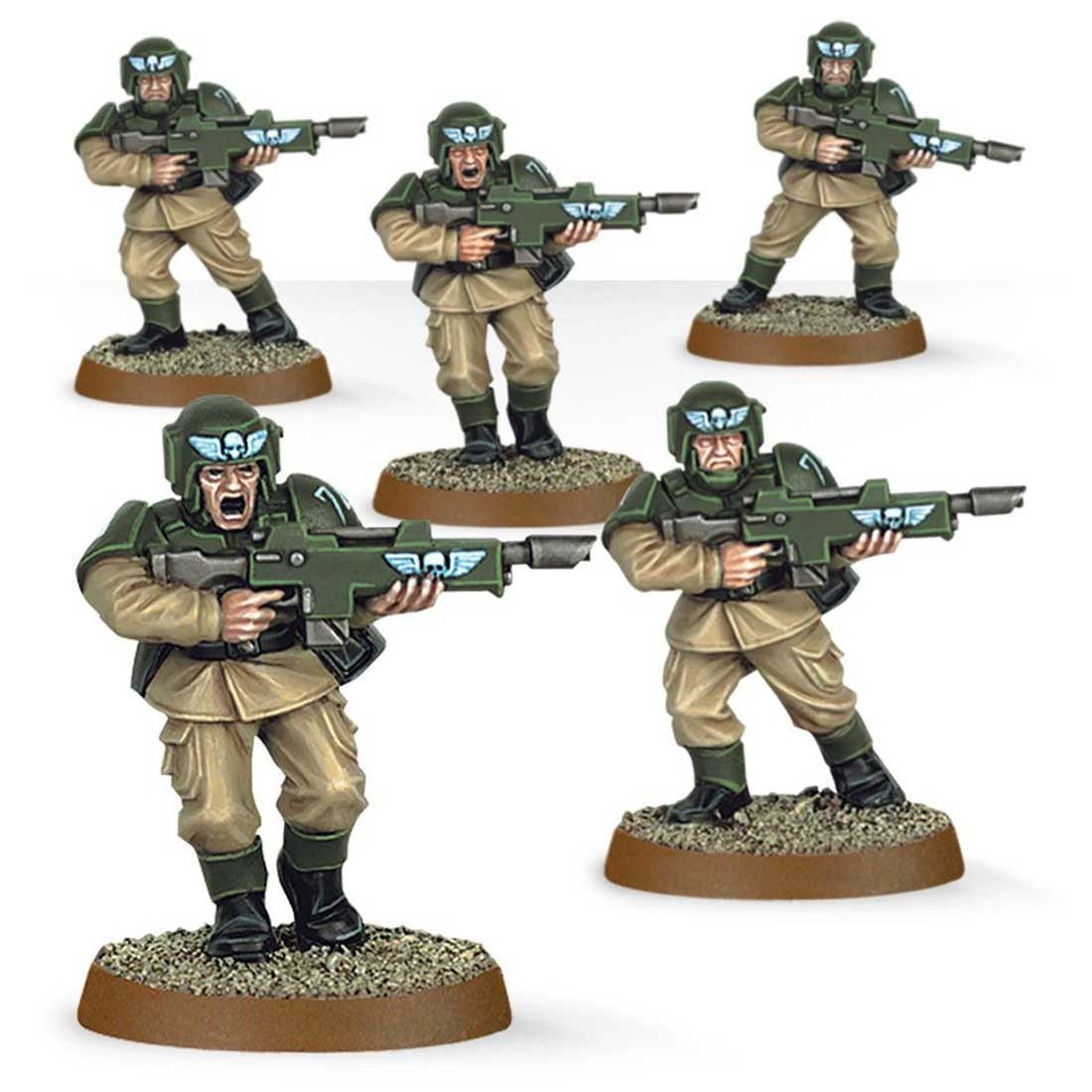 Games Workshop Warhammer 40,000: Astra Militarum Cadians