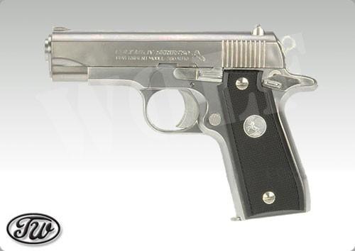 Tanaka Government .380 Auto Chrome Stainless GBB Pistol