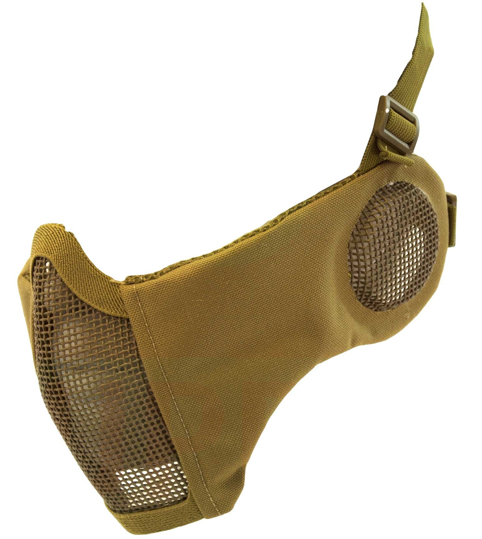 Nuprol Airsoft Mesh Lower Face Shield V3 - Tan