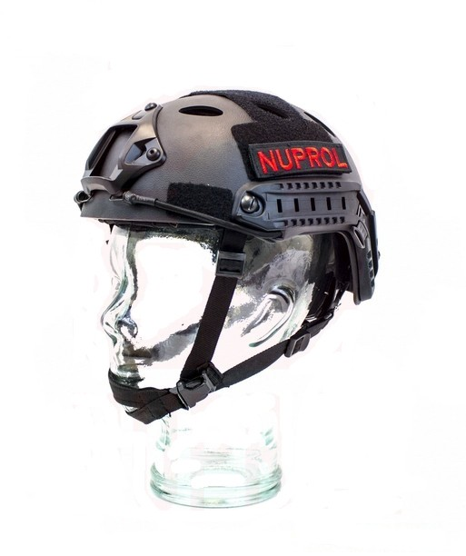 Nuprol Fast Railed Helmet Black