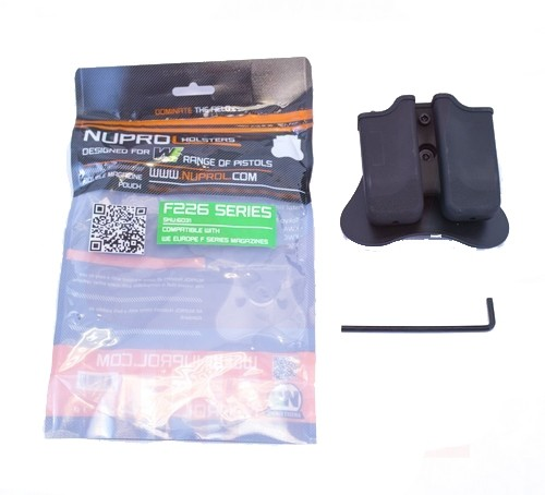 Nuprol F Series Sig P226 Double Magazine Pouch