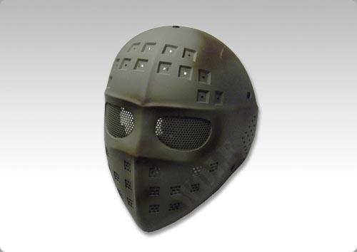Wire Mesh Hockey Type Mask (Sand)