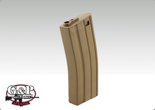 G&P M4/M16 Midcap Magazine 130rd Sand