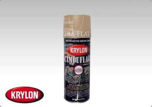 Krylon Camouflage Paint Sand Fusion