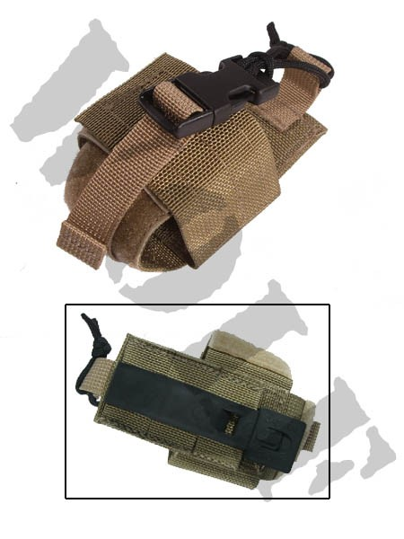 Tactical Tailor Radio Pouch Small Tan 1002314
