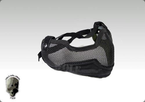 TMC V2 Strike Metal Mesh Mask (Black)