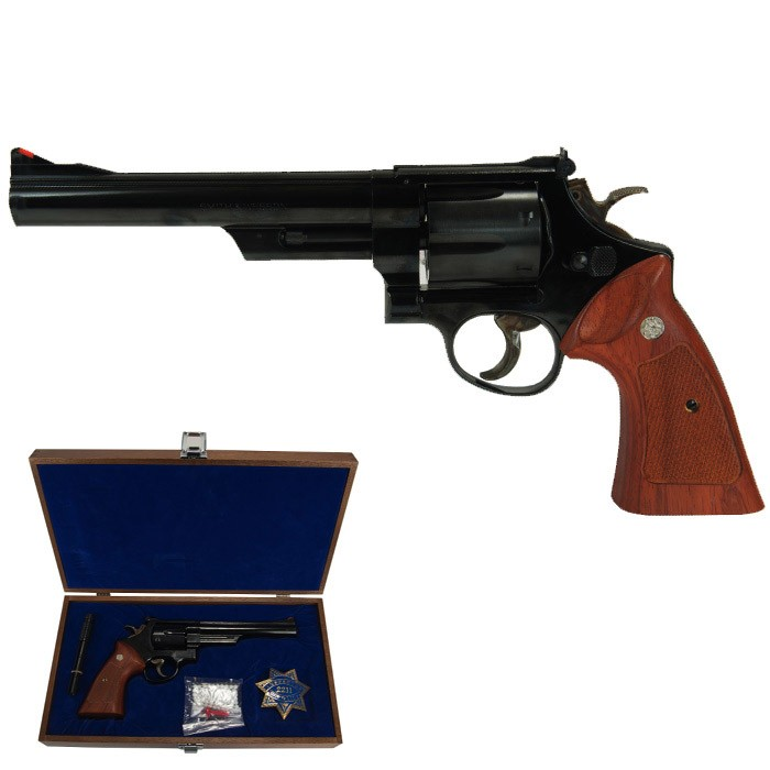 "Tanaka S&W M29 6.5"" Dirty Harry Model Deluxe Set"