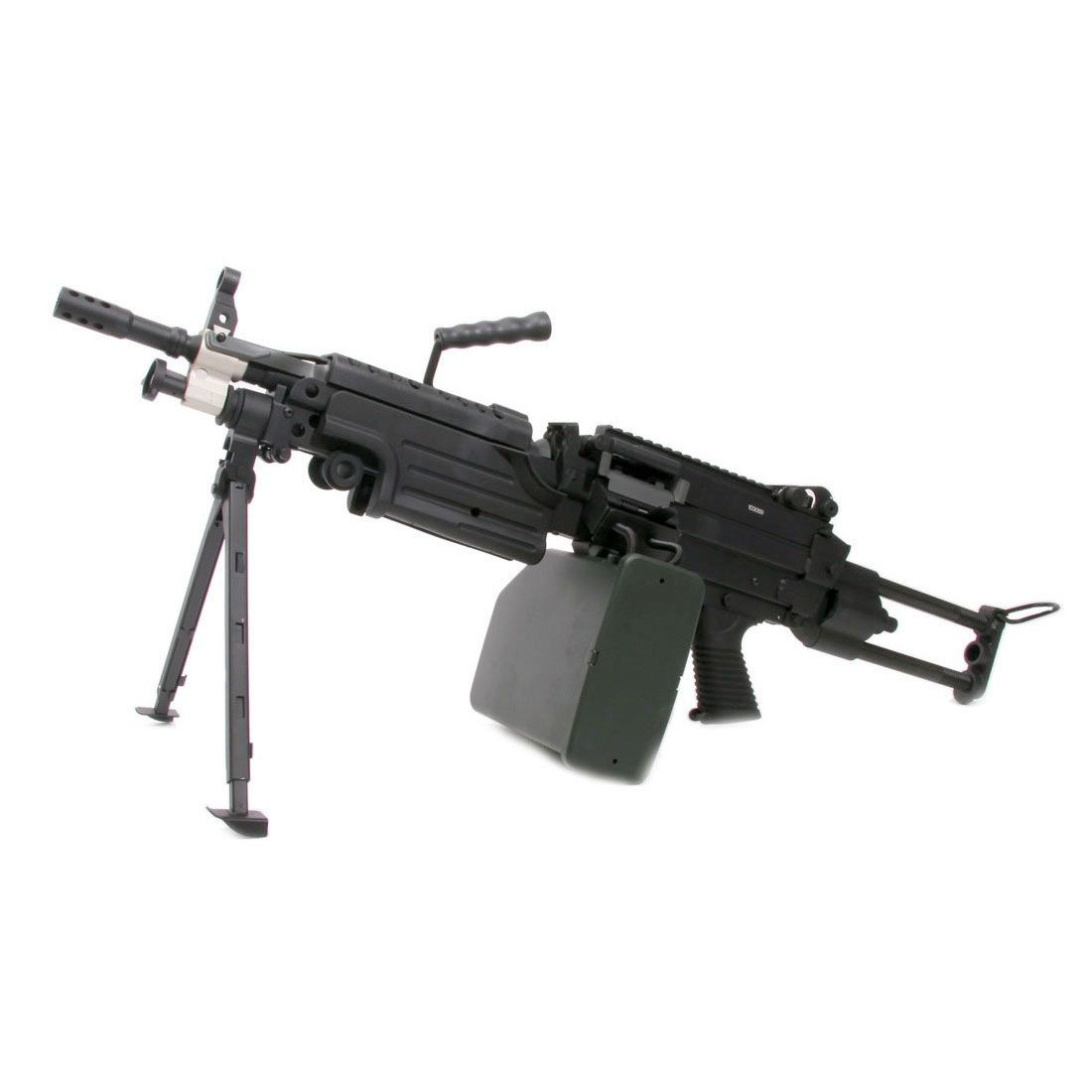 A&K M249 PARA Airsoft AEG Support Weapon Light Machine Gun