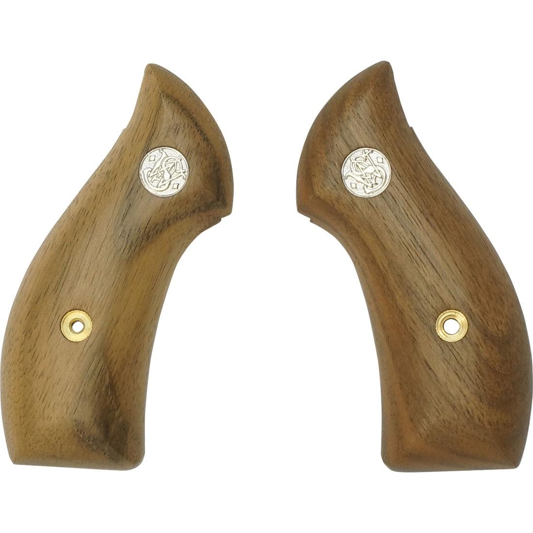 TANAKA S/&W M36 American Walnut Wooden Grip Smooth