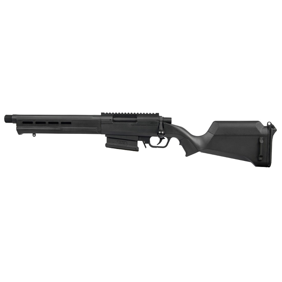 Ares Amoeba Striker AS02 Spring Sniper Scout Rifle - Black