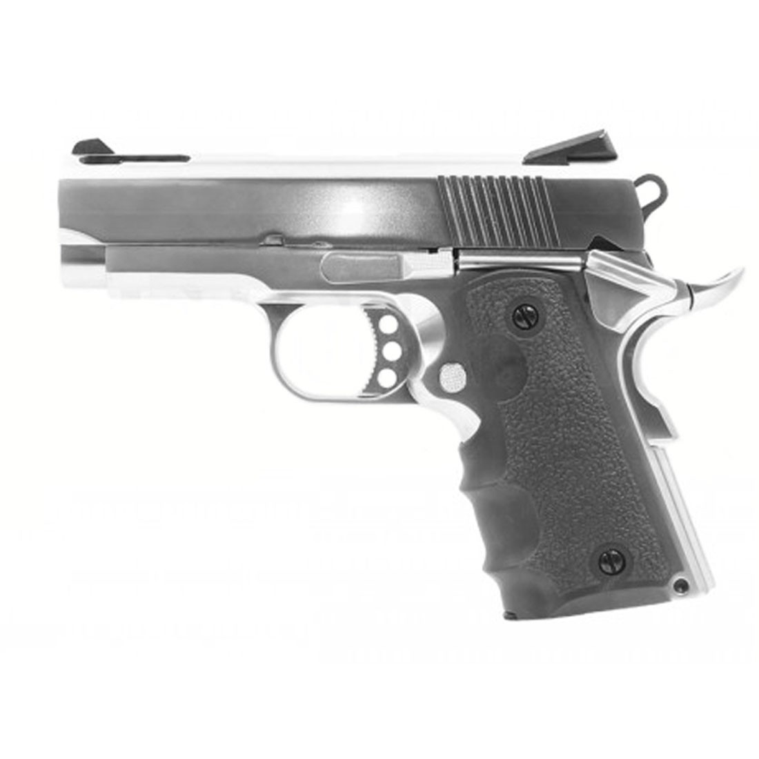 Armorer Works Custom 1911 Compact GBB Pistol - Silver