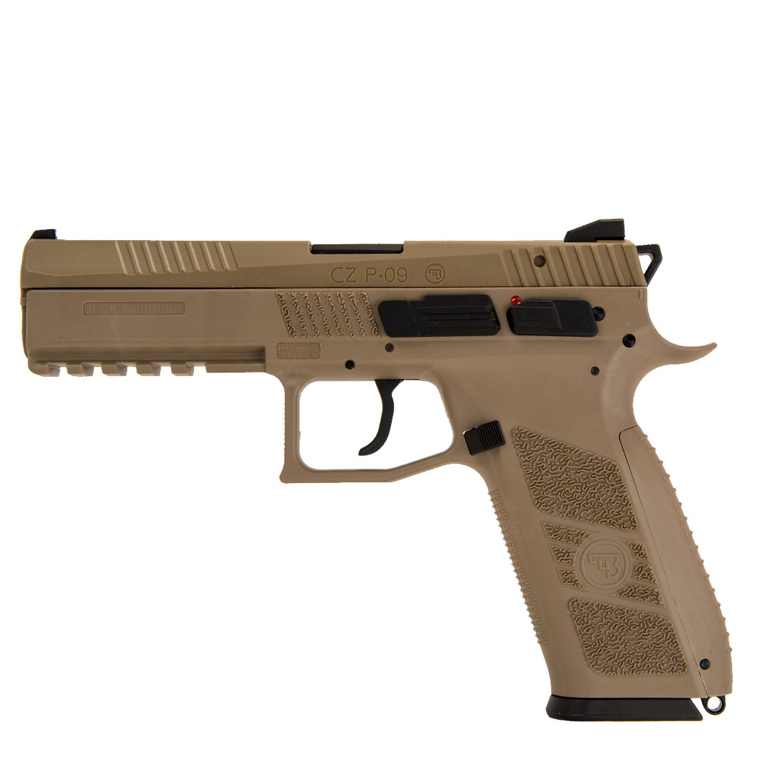 ASG CZ P-09 GBB Pistol (FDE)