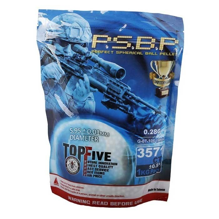 G&G P.S.B.P Competition Grade 0.28g 3571 6mm BB 1kg Bag