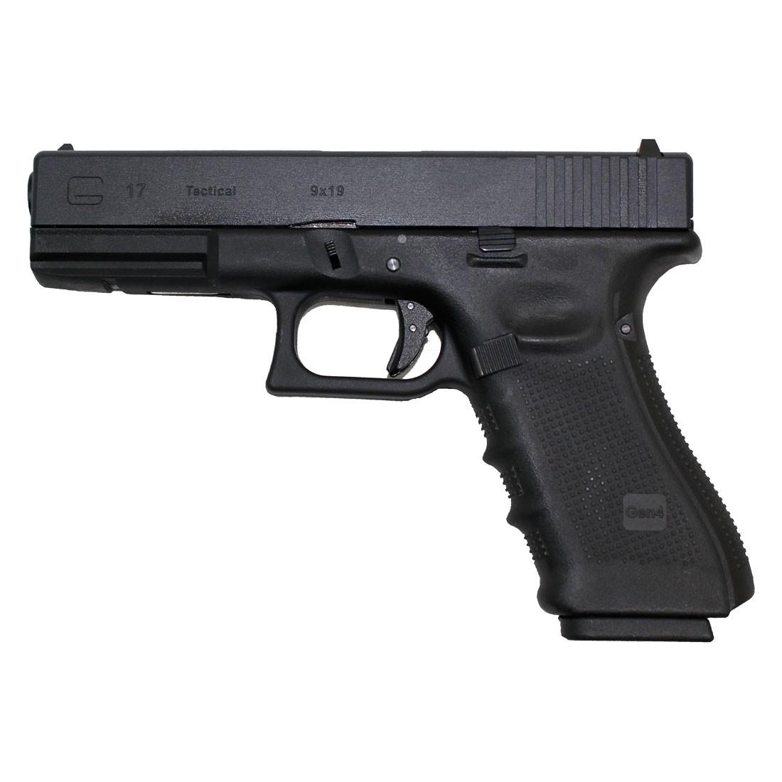 WE Glock 17 Gen 4 GBB Pistol (Black)