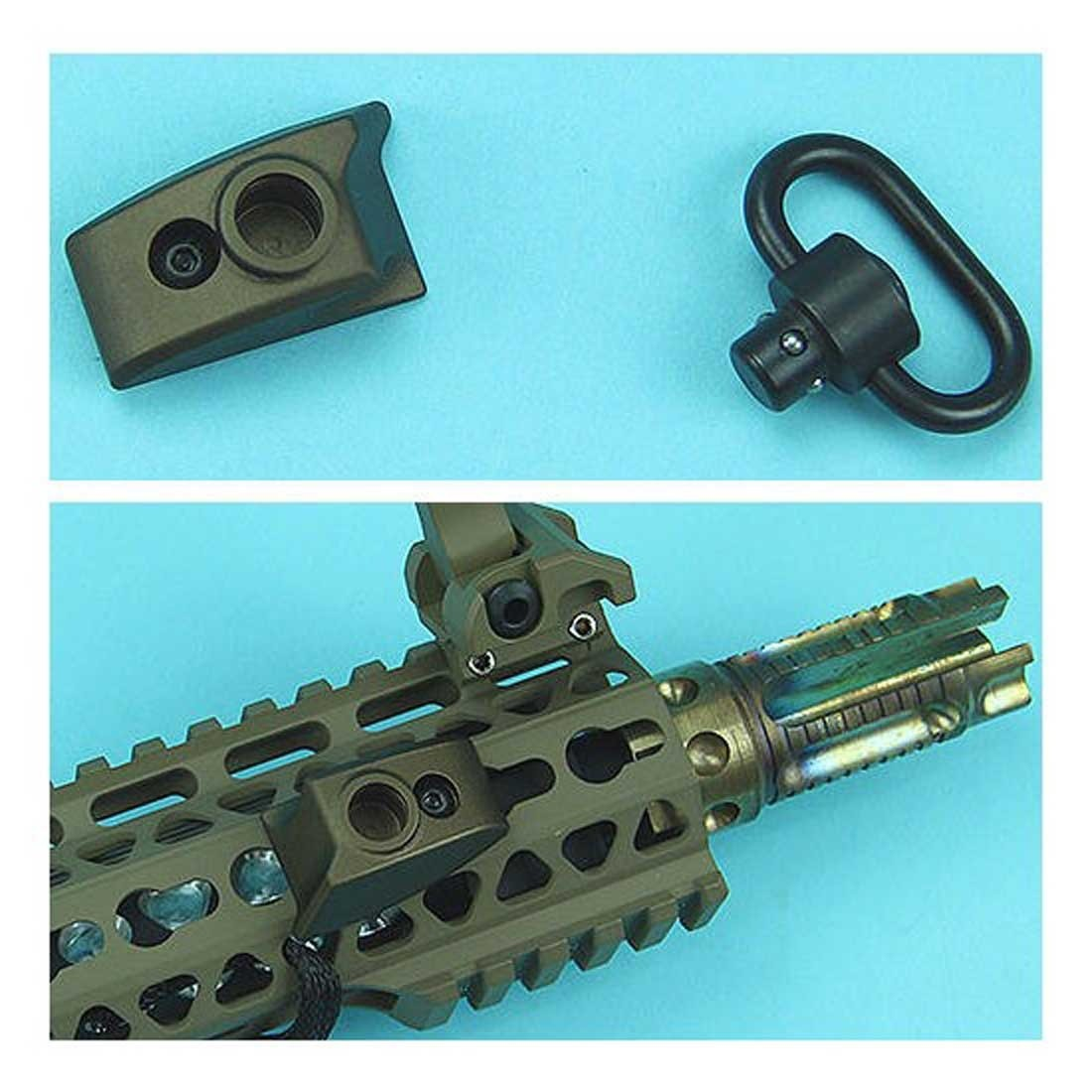 G&P Keymod Sling Swivel Thumb Stop for Keymod System Airsoft (Right Hand) – Sand