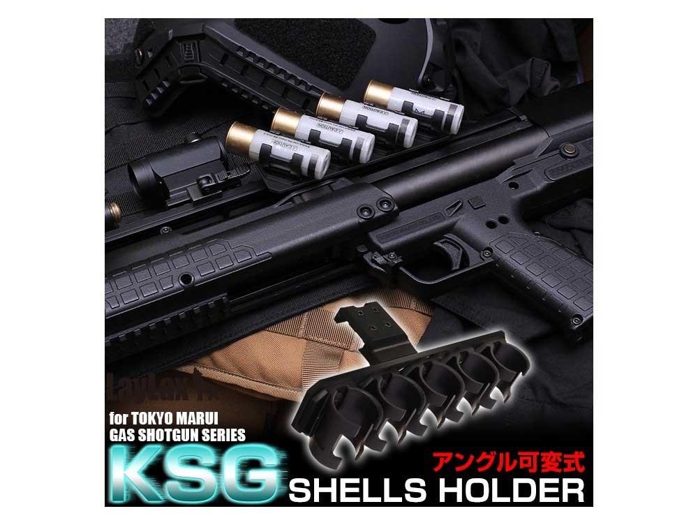 LayLax Tokyo Marui KSG Airsoft Gas Shotgun Shot Shell Holder