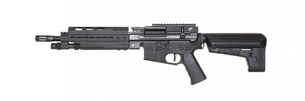 Krytac Trident LMG Enhanced Airsoft AEG (Black) Light Machine Gun