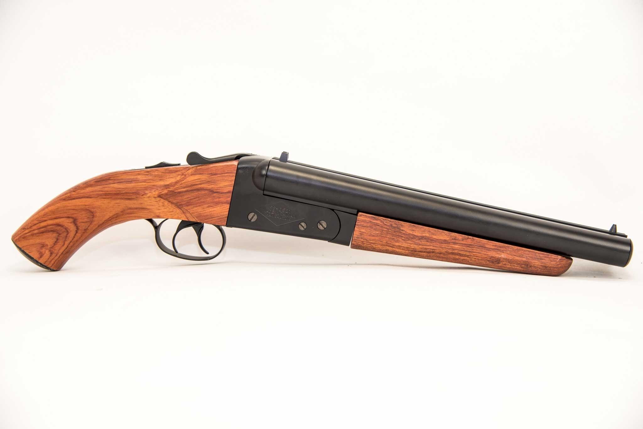 Hwasan Mad Max Double Barrel Sawn-Off Airsoft Shotgun (Wood & Metal)