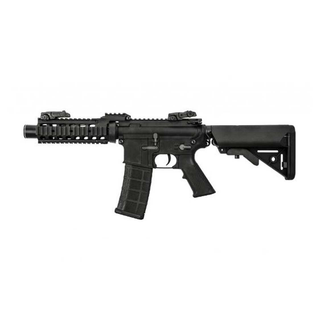 Nuprol Delta Pioneer Breacher Airsoft AEG Rifle (Black)