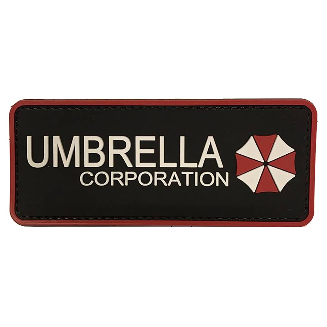 UMBRELLA CORPORATION Tactical Rubber Velcro Patches