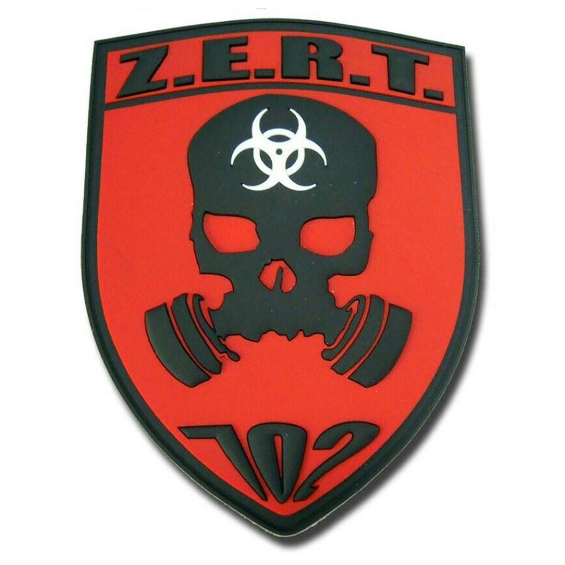 ZERT Tactical Rubber Velcro Patches