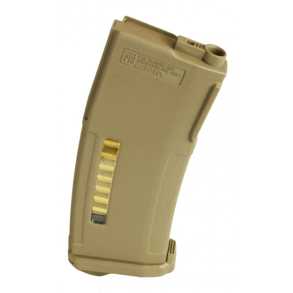PTS Syndicate Airsoft EPM Magazine for TM Recoil Shock M4/Scar - Dark Earth