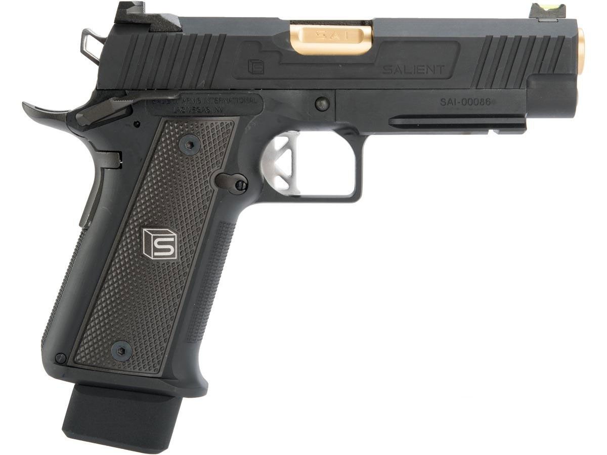 EMG Salient Arms International 2011 DS 4.3 Airsoft Gas Blowback Pistol - SPECIAL ORDER
