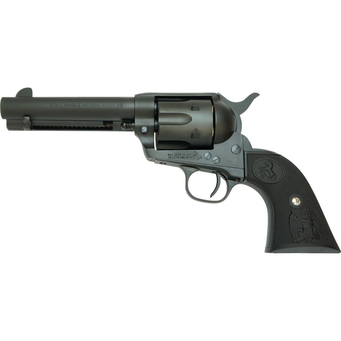 "Tanaka Colt SAA .45 (2nd) Detachable Cylinder Civilian 4 3/4"" HW Black"