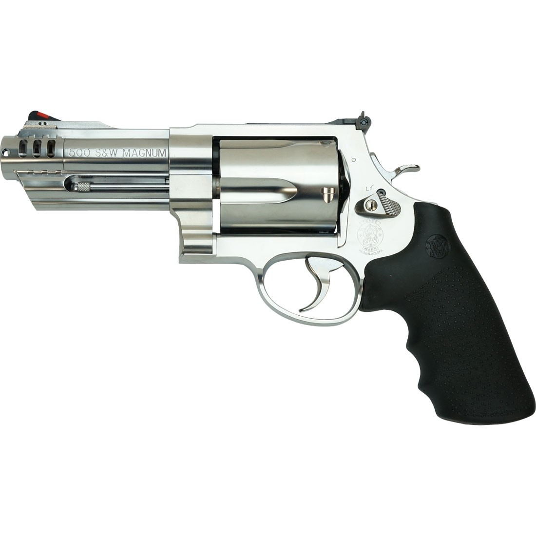 Tanaka S&W M500 3 inch Plus 1 inch Stainless Compensator Airsoft Revolver