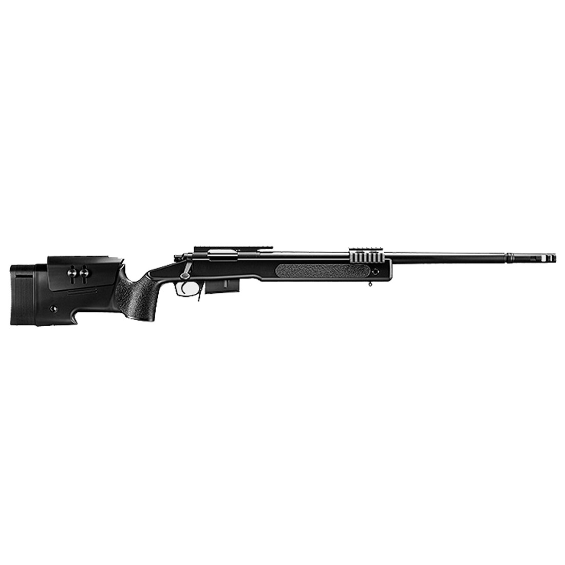 Tokyo Marui M40A5 U.S. Marine Airsoft Spring Sniper Rifle - Black