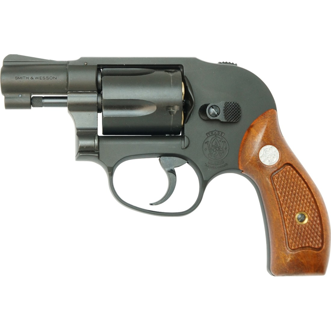 "Tanaka S&W M49 Bodyguard 2"" HW Airsoft Gas Revolver"