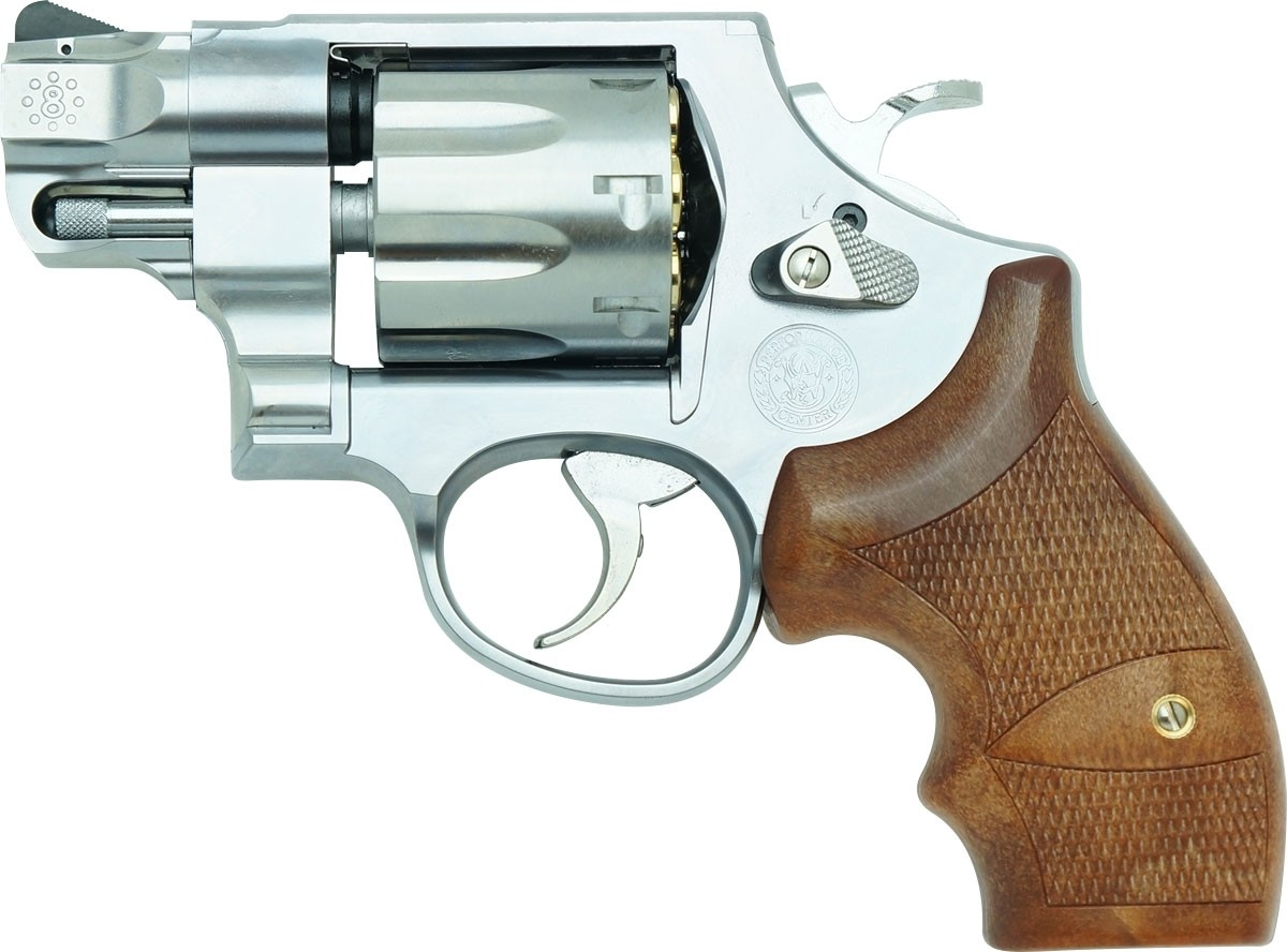 """Tanaka S&W M327 Performance Center M&P R8 2"""" Stainless Ver.2 HW Airsoft Revolver"""