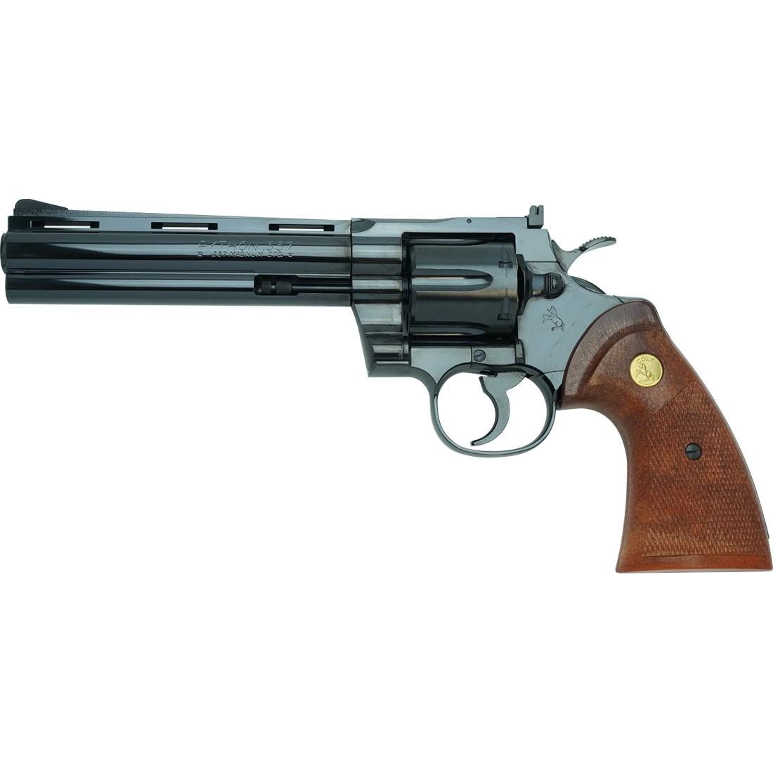 "Tanaka Colt Python .357 6"" Steel Finish Revolver"