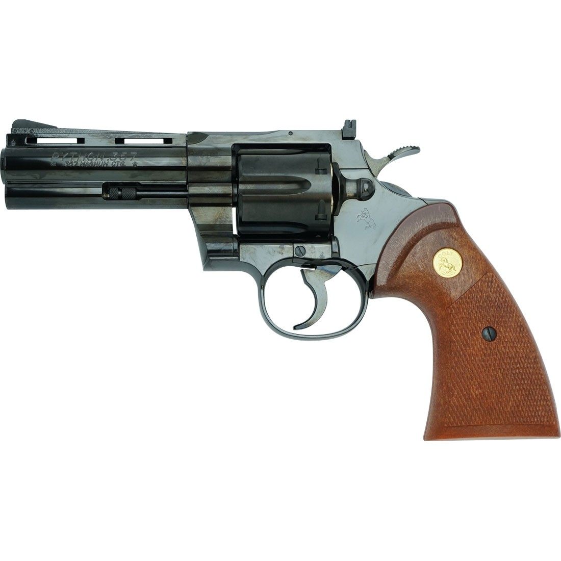 "Tanaka Colt Python .357 4"" Steel Finish Revolver"
