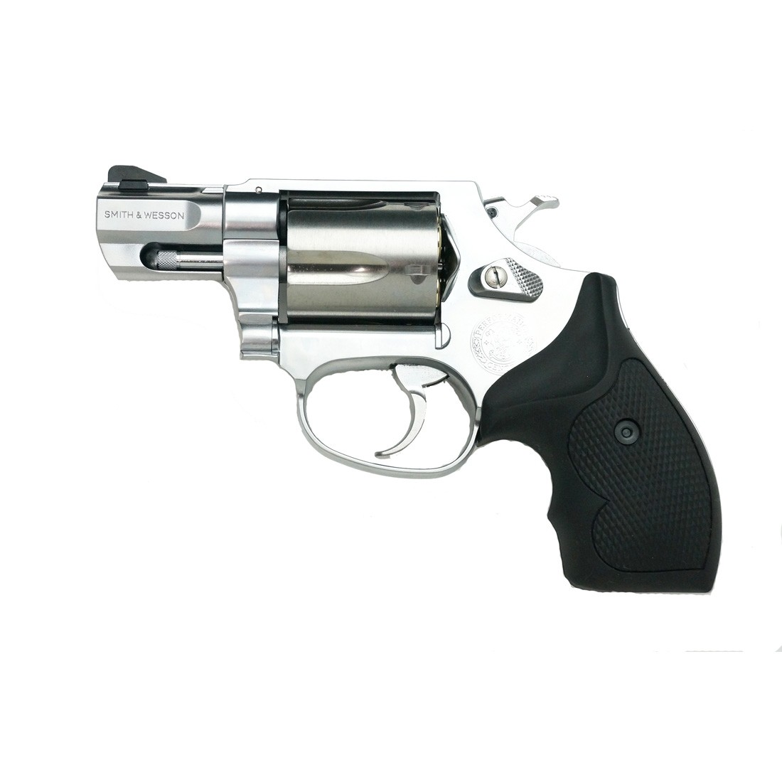 """Tanaka S&W M60 Performance Center 2"""" Flat Side Stainless Steel Ver.2 Airsoft Gas Revolver"""