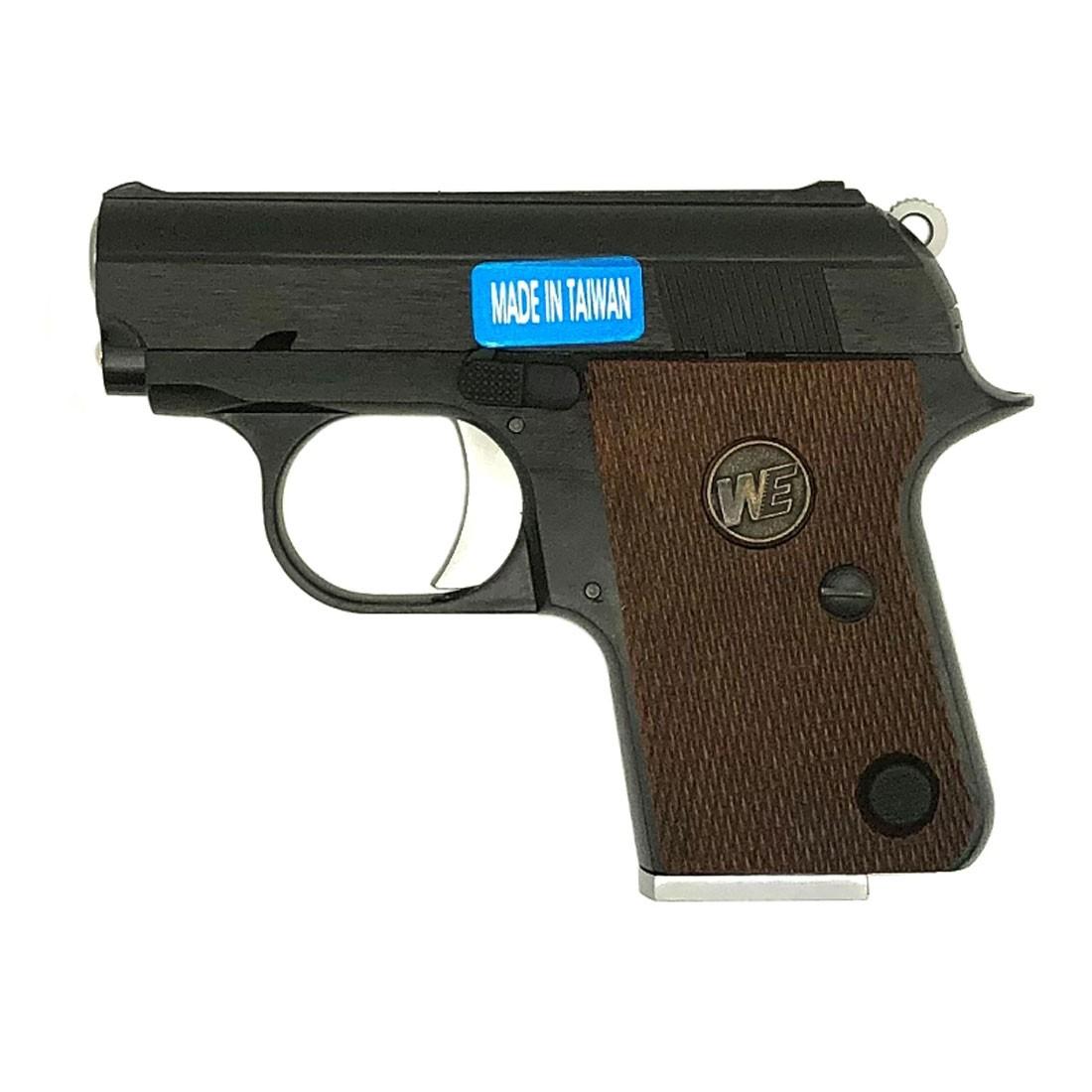 WE Colt 25 Auto CT25 Full Metal Gas Blowback Airsoft Pistol - Black