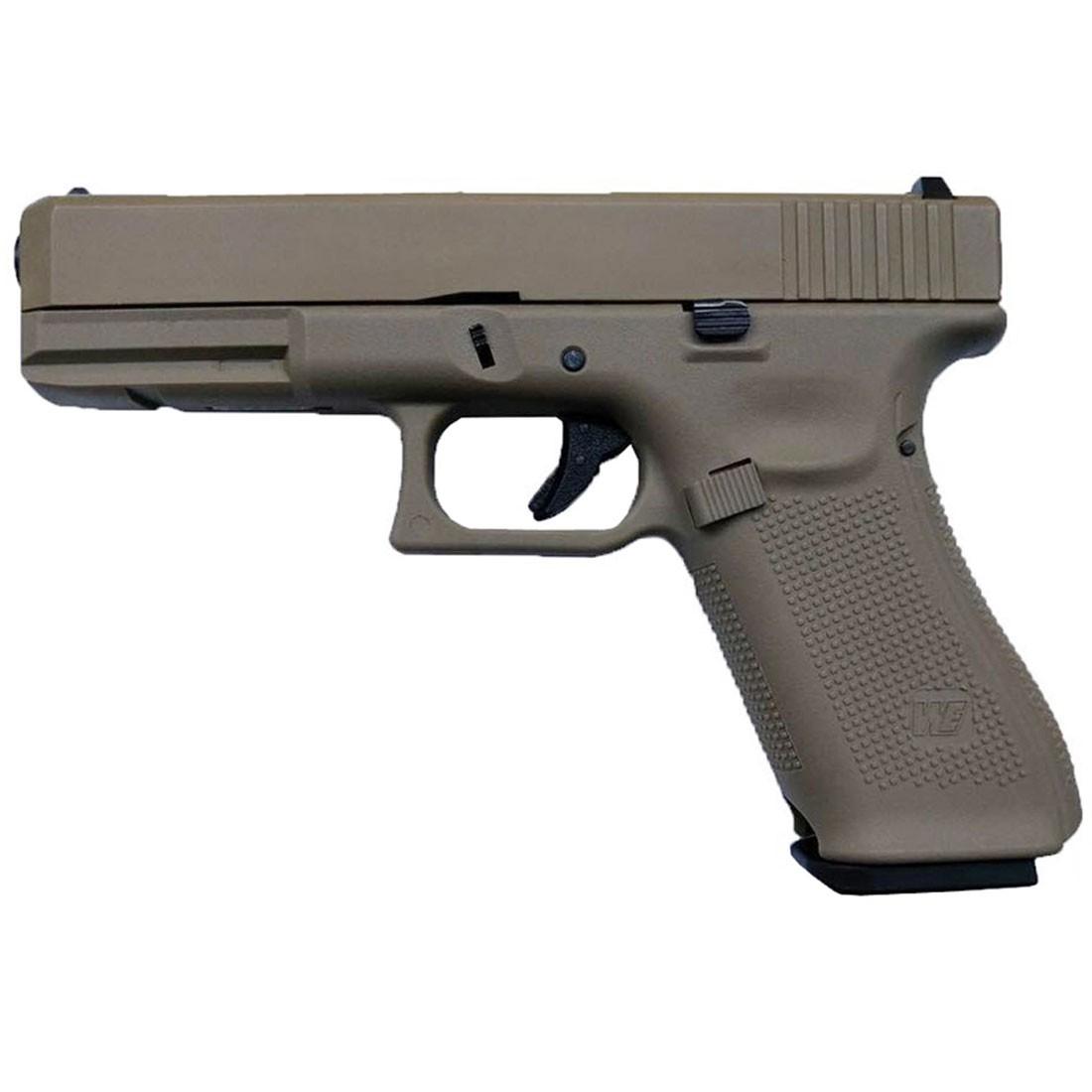 WE EU G17 Gen 5 GBB Airsoft Pistol (Tan) - PRE-ORDER