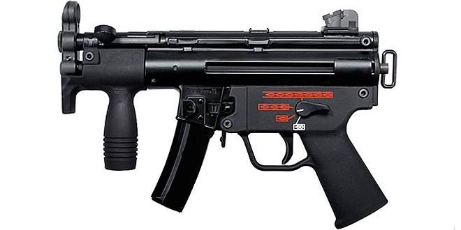 WE Apache K GBB Submachine Gun