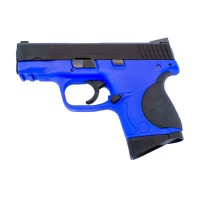 WE S&W M&P Compact Little Bird GBB Pistol - Blue