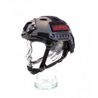 Nuprol Fast Railed Helmet Black