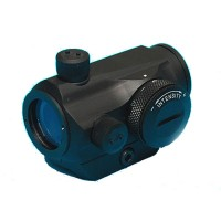 T1 Style Airsoft Red/Green Dot Scope with Low Mount - Black