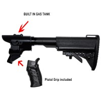 G&P Gas Charging Collapsible Stock Set (Marui M870)