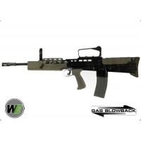 WE L85 / SA80 Open Bolt GBB Rifle