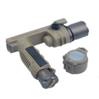 Night Evolution M910A Vertical Foregrip WeaponLight (Dark Earth)