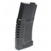Ares Amoeba M4/M16 Airsoft AEG Midcap Magazine 140rd (Black) - Plastic Version