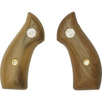 Tanaka Wooden American Walnut Smooth Grip for S&W J-frame Revolvers