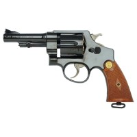 Tanaka S&W M1917 4inch Hand Ejector Steel Finish Revolver