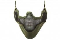 Nuprol Airsoft Mesh Lower Face Shield V2 - Green