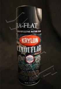 Krylon Camouflage Paint Black Fusion