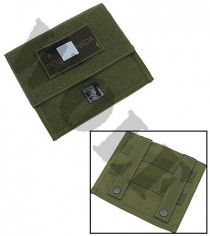 King Arms MPS Map Pouch -OD -Blood Type A